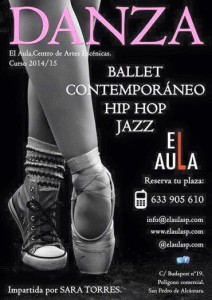 aula artist coaching dance classes-cartel-2